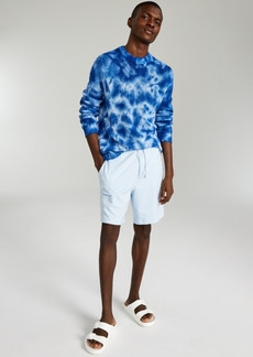 Inc International Concepts Onyx Men's Regular-Fit Open-Knit Tie-Dyed Sweater, Created for Macy's