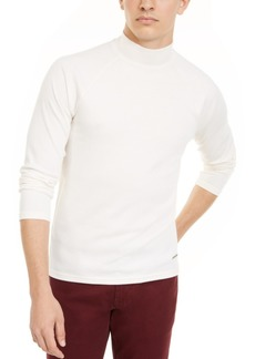 Inc Men's Ribbed Mock Neck Sweater, Created For Macy's