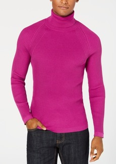 INC I.n.c. Men's Ribbed Turtleneck Sweater, Created for Macy's