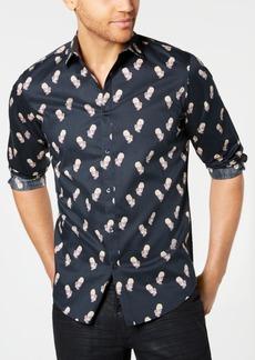 INC I.n.c. Men's Rose Skull Shirt, Created for Macy's
