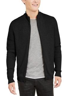 Inc Men's Samuel Zip-Front Cardigan, Created For Macy's
