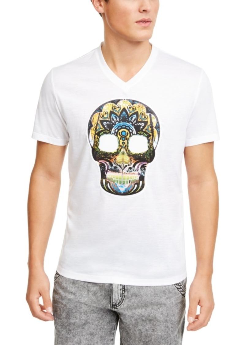 Inc Men's Scenic Skull Graphic T-Shirt, Created for Macy's