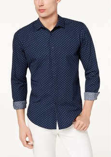 INC I.n.c. Men's Seersucker Dot Shirt, Created for Macy's