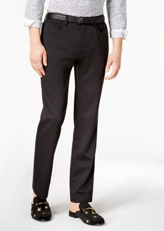 INC I.n.c. Men's Shiny Slim-Fit Stretch Pants, Created for Macy's