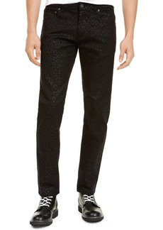 Inc Men's Slim-Fit Animal Print Jeans, Created For Macy's