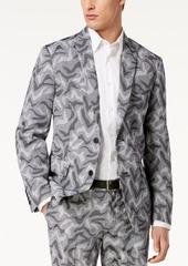 INC I.n.c. Men's Slim-Fit Camo Jacquard Blazer, Created for Macy's