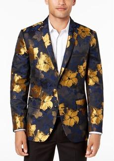 INC I.n.c. Men's Slim-Fit Floral Jacquard Blazer, Created for Macy's