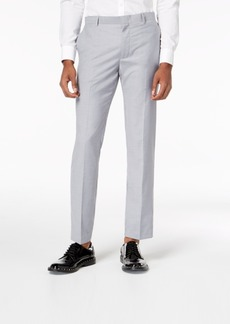 INC I.n.c. Men's Slim-Fit Gray Suit Pants, Created for Macy's