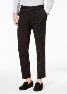 INC I.n.c. Men's Slim-Fit Leopard Pants, Created for Macy's