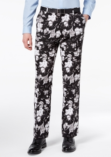 INC I.n.c. Men's Slim-Fit Ottoman Floral-Print Pants, Created for Macy's