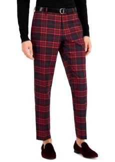 Inc Men's Noah Slim-Fit Plaid Suit Pants, Created for Macy's