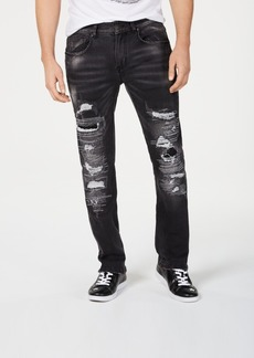 Inc Men's Slim-Fit Ripped Jeans, Created for Macy's
