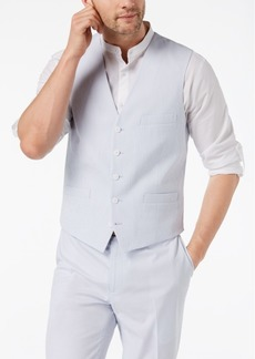 INC I.n.c. Men's Slim-Fit Seersucker Vest, Created for Macy's