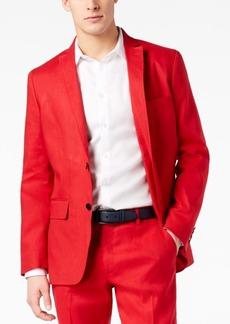INC I.n.c. Men's Slim-Fit Stretch Linen Blazer, Created for Macy's