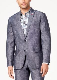 INC I.n.c. Men's Slim-Fit Textured Linen Suit Jacket, Created for Macy's