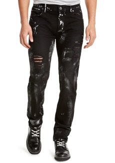 Inc Men's Onyx Slim Straight Fit Studio Jeans, Created For Macy's