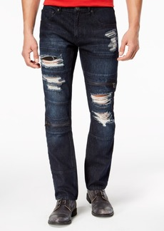 INC I.n.c. Men's Slim-Straight Stretch Ripped Jeans, Created for Macy's