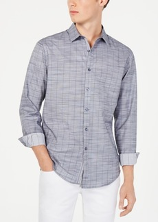 INC I.n.c. Men's Sloan Stretch Stripe Shirt, Created for Macy's