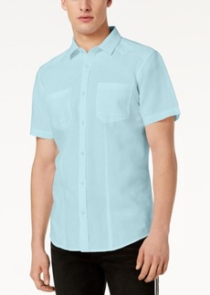 INC I.n.c. Men's Solid Pocket Shirt, Created for Macy's