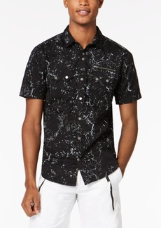INC I.n.c. Men's Splatter Shirt