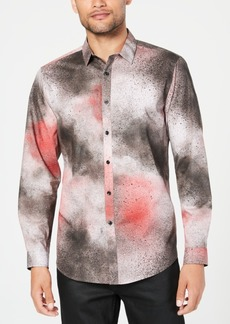 INC I.n.c. Men's Spray Paint Shirt, Created for Macy's