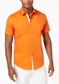 INC I.n.c. Men's Stretch Pocket Shirt, Created for Macy's