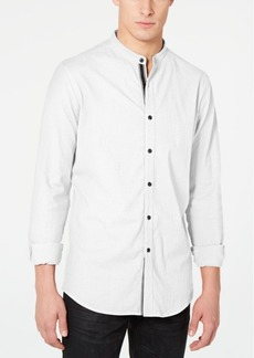 INC I.n.c. Men's Stretch Seersucker Shirt, Created for Macy's