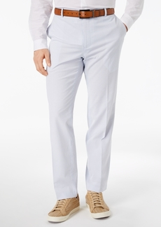 INC I.n.c. Men's Stretch Slim-Fit Seersucker Pants, Created for Macy's
