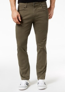 INC I.n.c. Men's Stretch Twill Pants, Created for Macy's