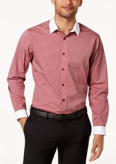 INC I.n.c. Men's Striped Banker Shirt Shirt, Created for Macy's