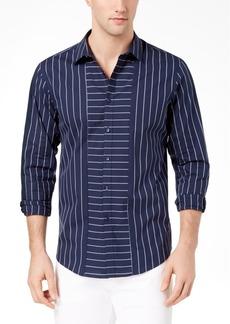 INC I.n.c. Men's Striped Regular-Fit Shirt, Created for Macy's