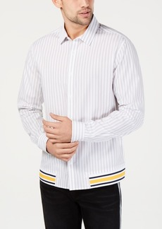 INC I.n.c. Men's Striped Shirt, Created for Macy's