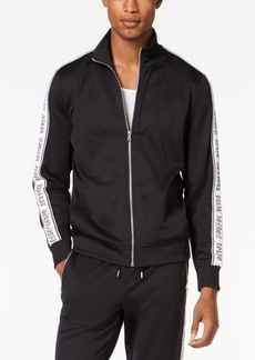 INC I.n.c. Men's Striped-Sleeve Track Jacket, Created for Macy's