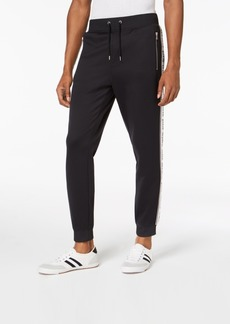 INC I.n.c. Men's Taped Knit Track Pants, Created for Macy's