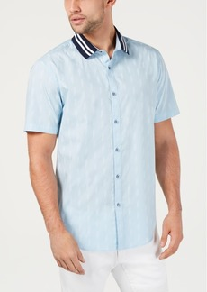 INC I.n.c. Men's Text-Pattern Shirt, Created for Macy's