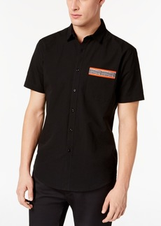 INC I.n.c. Men's Textured Pocket Shirt, Created for Macy's