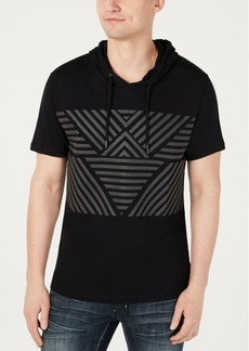 Inc Men's Throwback Short-Sleeve Hoodie, Created for Macy's