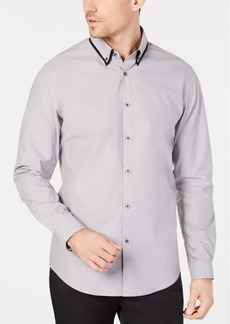 INC I.n.c. Men's Tipped Collar Shirt, Created for Macy's