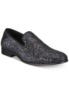 INC I.n.c. Men's Triton Glitter Smoking Slippers, Created for Macy's Men's Shoes