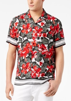 INC I.n.c. Men's Tropical-Print Shirt, Created for Macy's