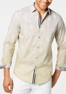 INC I.n.c. Men's Two-Tone Paisley Shirt, Created for Macy's