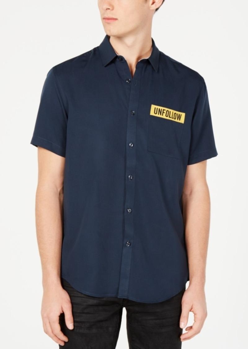 INC I.n.c. Men's Unfollow Shirt, Created for Macy's