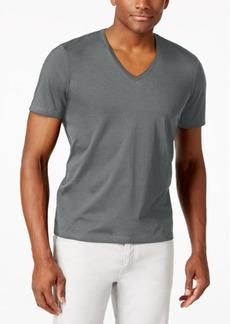 INC I.n.c. Men's V-Neck Polished T-Shirt, Created for Macy's