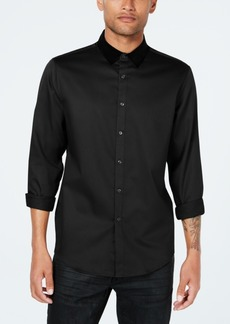 Inc Men's Velvet Collar Shirt, Created for Macy's