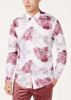 INC I.n.c. Men's Watercolor Print Shirt, Created for Macy's