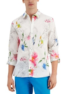 Inc Men's Waterlily Shirt, Created for Macy's