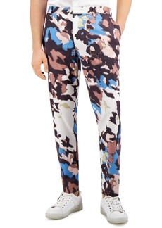 Inc Men's Watson Abstract Printed Slim Fit Pants, Created for Macy's