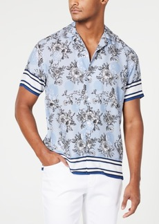 INC I.n.c. Men's Wesley Floral Shirt, Created for Macy's