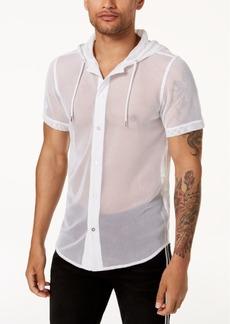 INC Mr. Turk X I.n.c. Men's Big Mesh Hooded Shirt, Created for Macy's