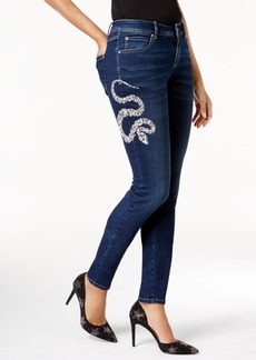 Anna Sui Loves Inc International Concepts Embellished Skinny Jeans, Created for Macy's